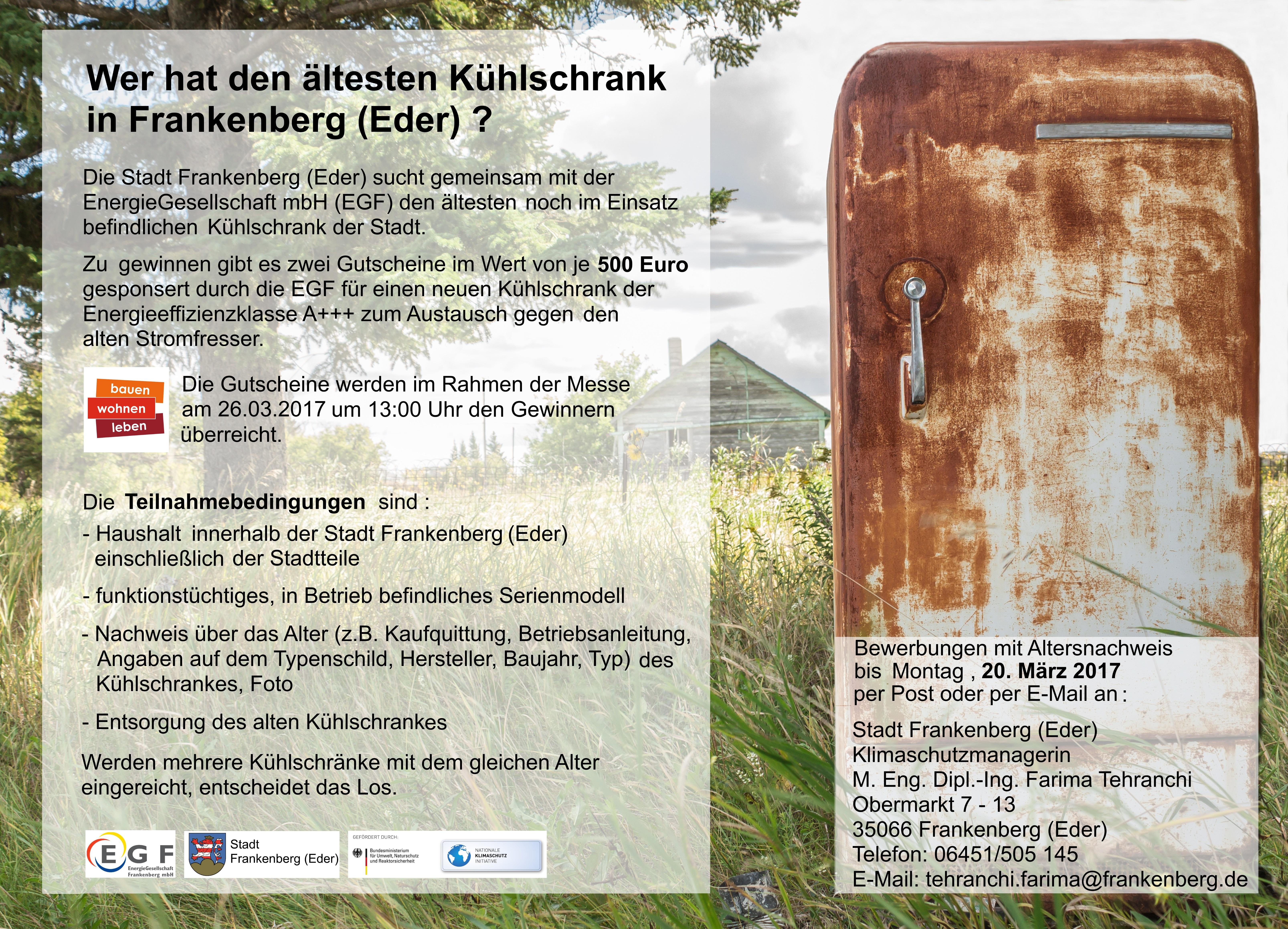Altester Kuhlschrank Frankenbergs Gesucht Stadt Frankenberg Eder